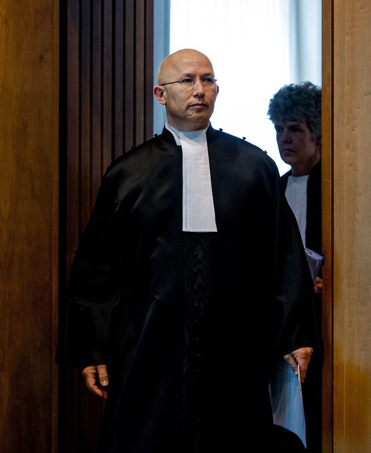 De president van het gerechtshof Arnhem-Leeuwarden neemt het in een verklaring op voor de bekritiseerde, voormalige rechter Rinus Otte in de zaak rondom Anne Faber. Beeld ANP
