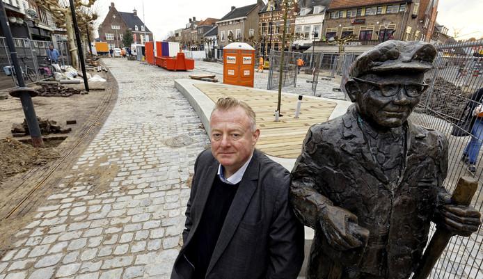 Eric van den Broek op de Boxtelse Markt.