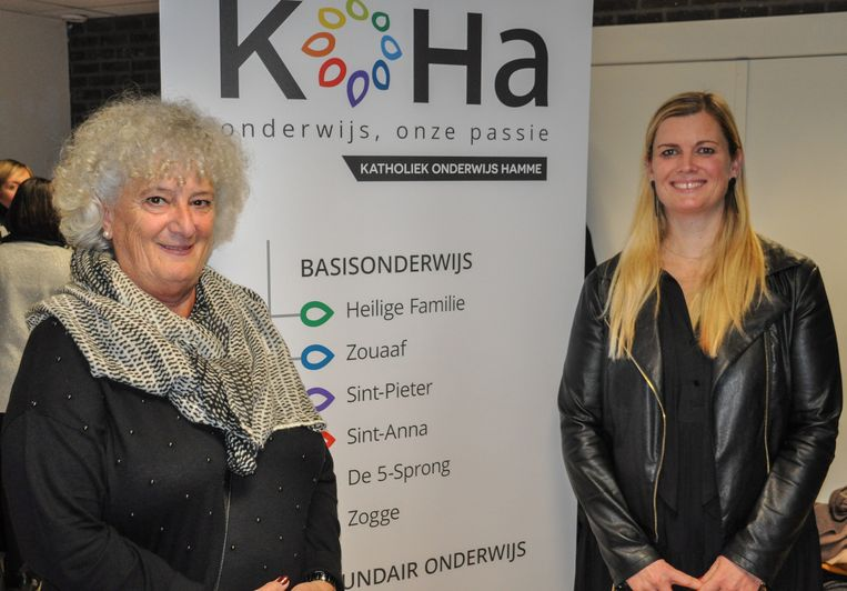 Rita (links) gaat met pensioen, Caroline zal haar vanaf mei opvolgen.