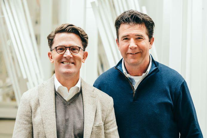 Mathee en Anton de Vin van Van de Vin Ramen en Kozijnen.