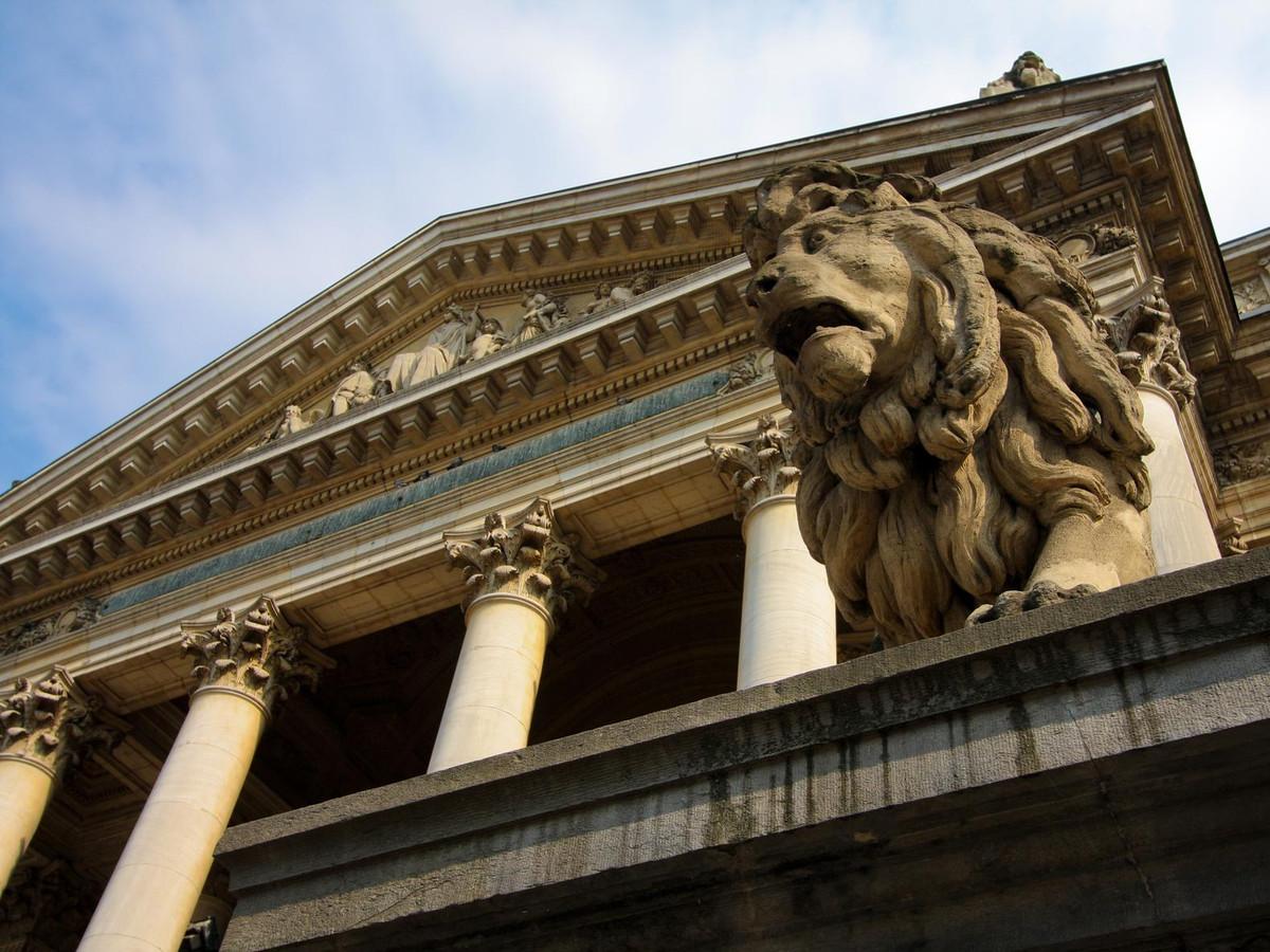 La Bourse, Bruxelles.