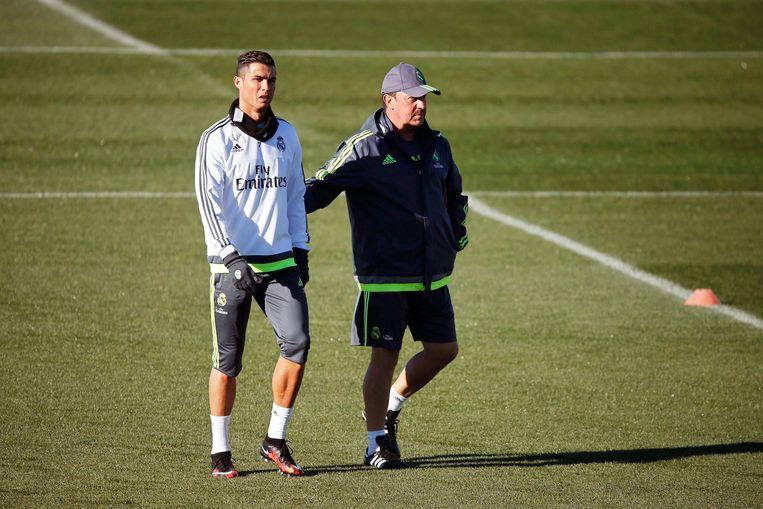 Benítez had nooit een connectie met de ploeg, zeker niet met sterspeler Cristiano Ronaldo