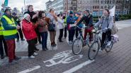 Applausje voor de fietsers
