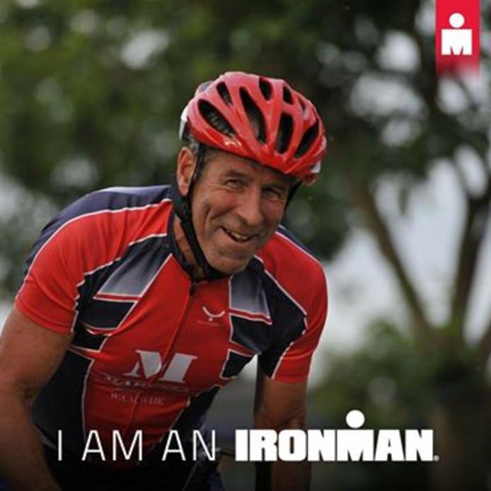 Triatleet Ad Schoonderbeek ziet zijn droom in vervulling komen: hij gaat in oktober naar de Iron Man op Hawaii.