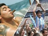 Een ode van Sjoerd Mossou aan overleden Maradona