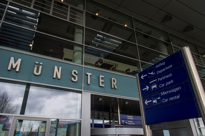 Het vliegveld in Münster-Osnabrück