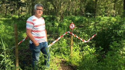 Nieuw wandelpad in Herdersem afgesloten door jagers