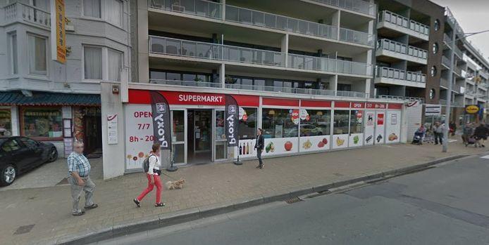 De Proxy Delhaize in de Kapelstraat in Bredene.
