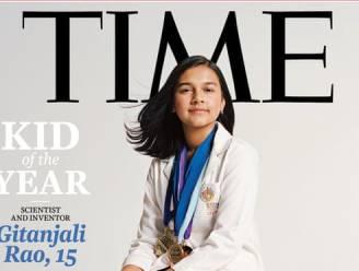 Time roept voor het eerst jonge wetenschapster van 15 uit tot 'kind van het jaar'