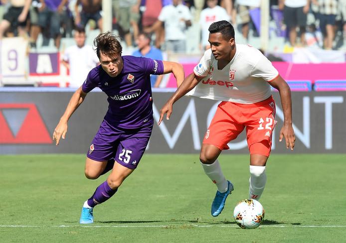 Juventus had zijn handen vol aan Federico Chiesa.