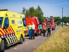 Lek in kerosineleiding defensie bij Aarle-Rixtel: medewerker doordrenkt met brandbare vloeistof