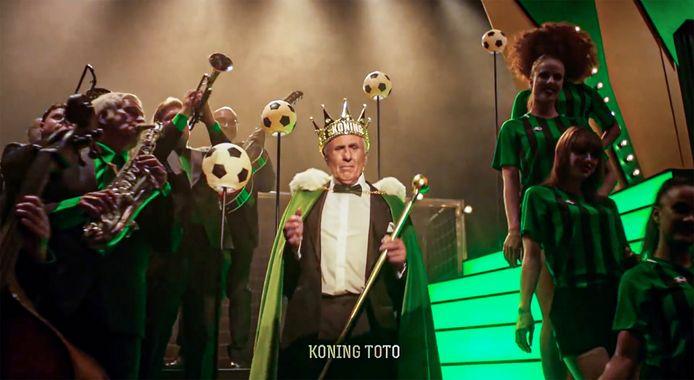 Sjaak Swart als Koning Toto.