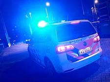 Duo vernielt achterlicht politiewagen en zet het op een lopen in Tiel