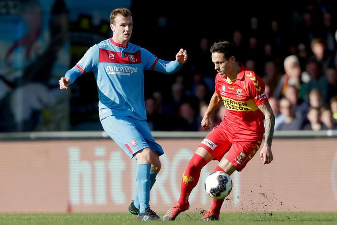 FC Twente loot thuis tegen GA Eagles.
