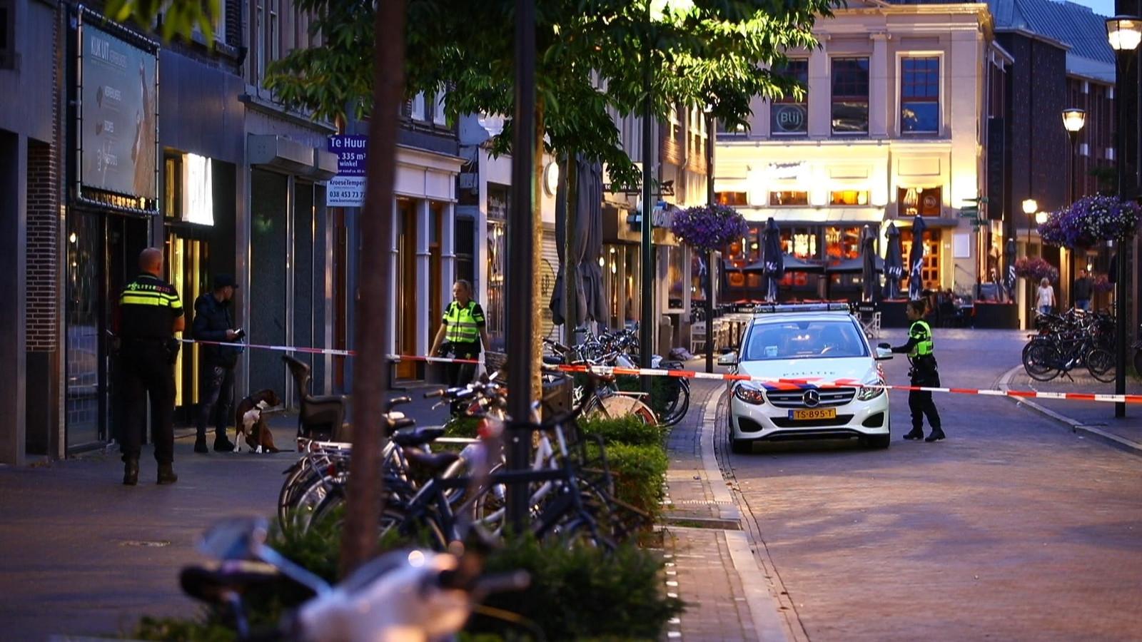 Na een ruzie aan Oude Vismarkt in Zwolle werd er geschoten.