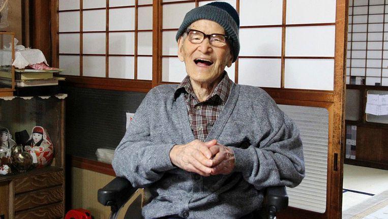 Deze Jiroemon Kimura is nog steeds de oudste mens ter wereld.