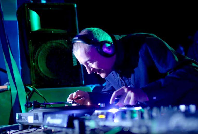 Steve Davis op festival Glastonbury in 2016. Beeld