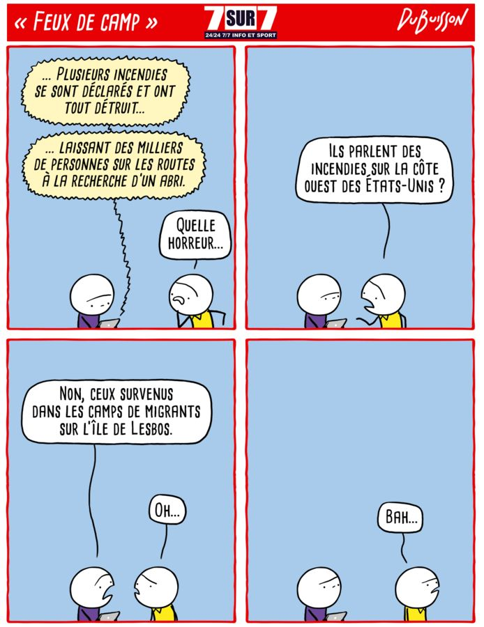 """""""Feux de camp"""", 14 septembre 2020"""