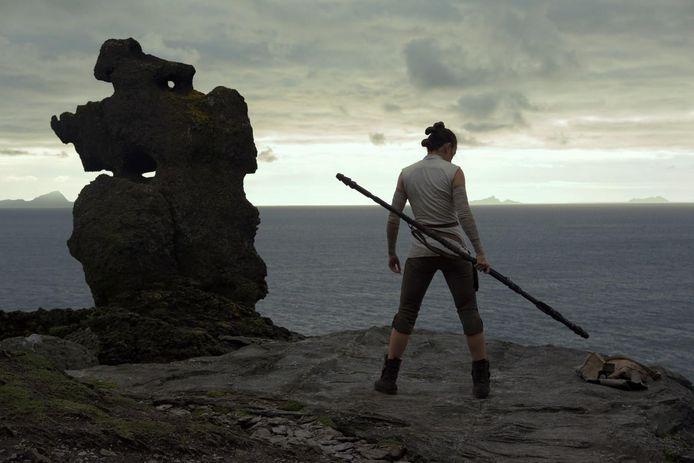 L'île de Skellig Michael dans Le Dernier Jedi.