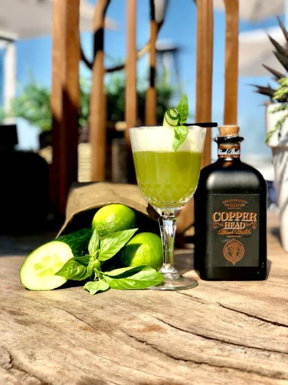 The Immigrant, the signature cocktail van 'Bar Georgie'