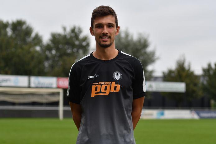 Joran Triest was in het bekeravontuur van RC Gent al goed voor drie doelpunten en hoopt dat ook de wedstrijd in Blankenberge tot een goed einde gebracht wordt.