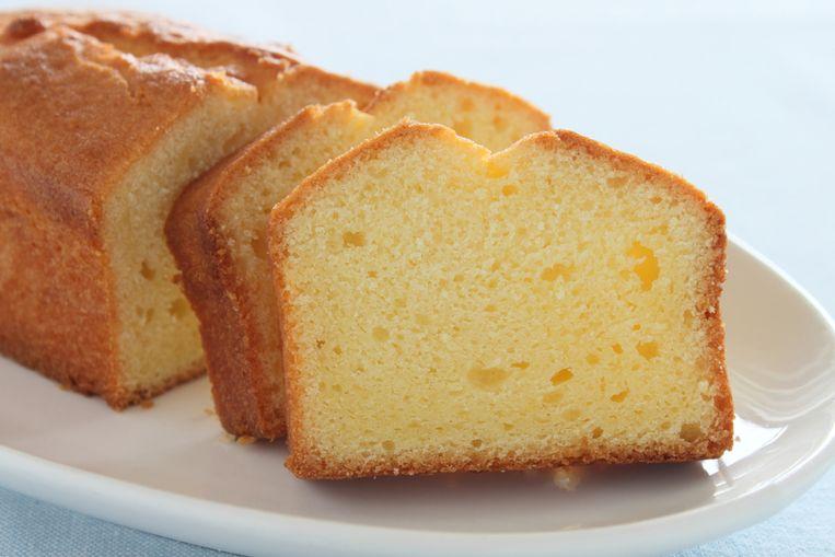 Een simpele plak cake kan goed dienst doen als tussendoortje.