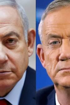 Netanyahu et Gantz au coude-à-coude en Israël