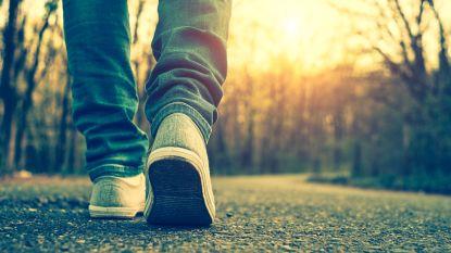De wereldeconomie heeft er baat bij als u 15 minuutjes extra per dag gaat wandelen