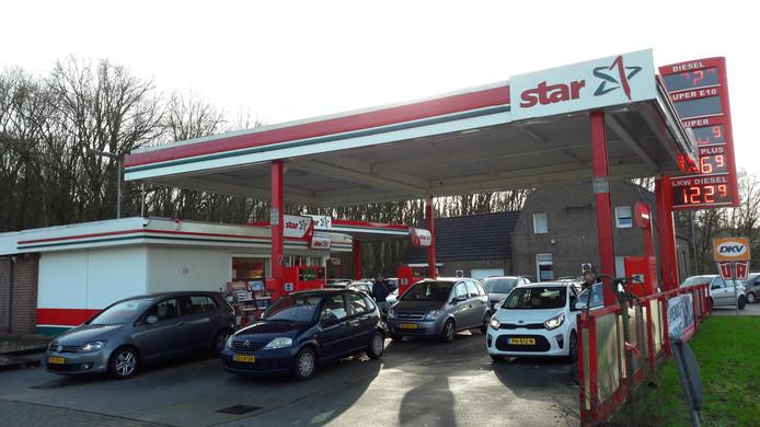De Star Tankstelle in Elten.
