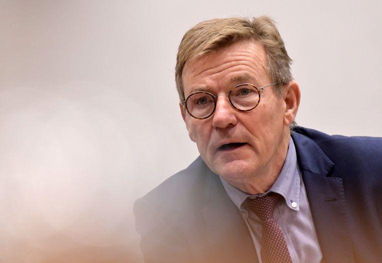 Minister van Fiscale Fraudebestrijding Johan Van Overtveldt (N-VA)