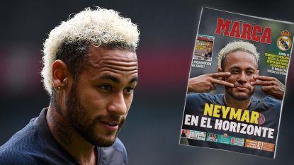 Neymar naast Hazard in Circus Real? Gerucht zwelt aan