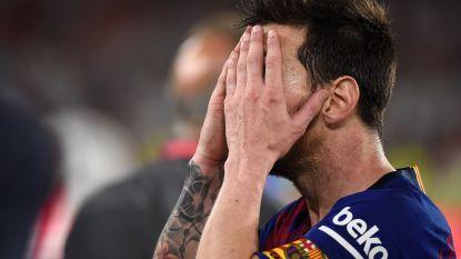 Verloren bekerfinale hakt er zwaar in bij FC Barcelona: nog op de terugweg crisisgesprek op de bus