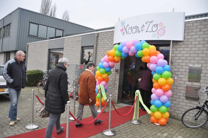 Veel belangstelling voor de opening van de nieuwe winkel van Noor & Zo in Waspik