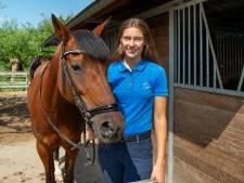 Schoonhovense Elise met pony Megan naar EK in Engeland