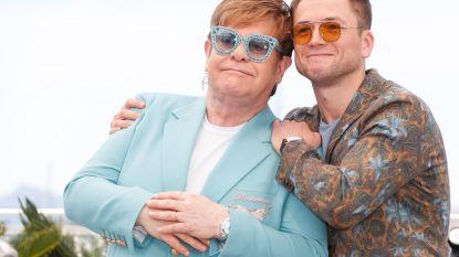 Elton John zingt tijdens filmopvoering duet met acteur die hem speelt in biopic