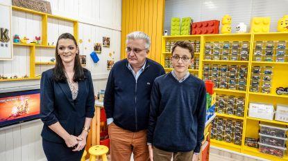"""Prins Laurent opent Legotheek in Deelfabriek: """"Kinderen worden gelukkig door met LEGO te spelen"""""""