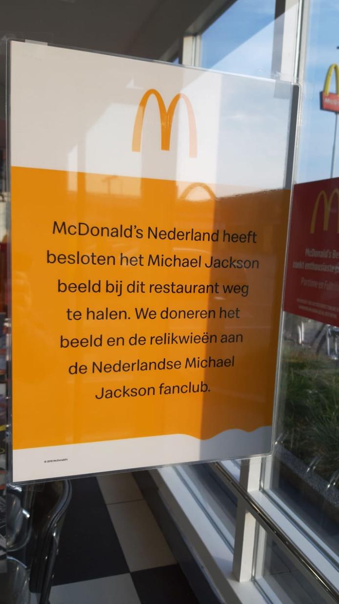 Uitleg van McDonald's