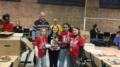 Meisjes BSGO Brugge Centrum boven op provinciaal kampioenschap schoolschaken