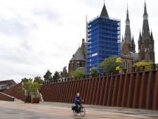 Oude 'blauwe' kerktoren van Cuijk wacht nieuwe opknapbeurt