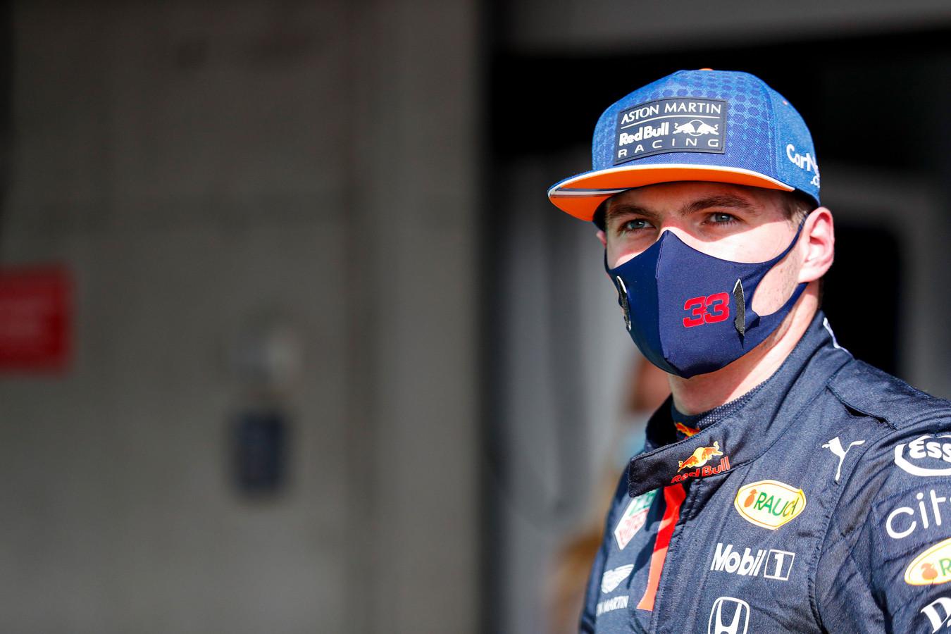 Max Verstappen, afgelopen week in Portugal.