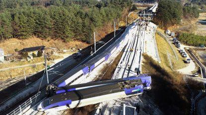 Hogesnelheidstrein ontspoord in Zuid-Korea: 14 gewonden