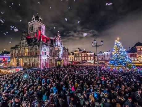 Nagenieten: Delft straalt tijdens lichtjesavond