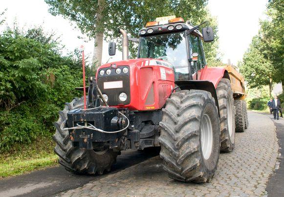 Archieffoto tractor.
