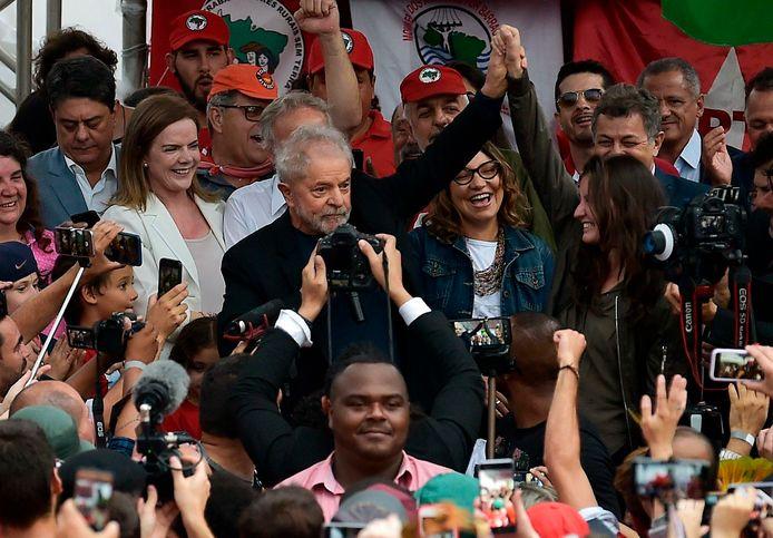 L'ancien président brésilien Luiz Inacio Lula da Silva