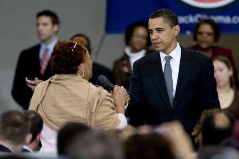 Barack Obama wil onder geen beding 'dienen' onder Hillary Clinton.