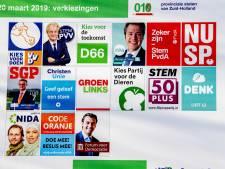 Provinciale Kieswijzer Overijssel, Flevoland en Gelderland op FvD na compleet