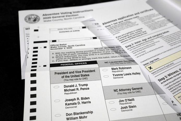 Miljoenen Amerikanen zullen dit jaar hun stem via de post uitbrengen.