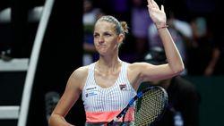 Karolina Pliskova droogt Venus Williams af op WTA Finals