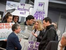 Stil protest in Tielse raadzaal nauwelijks gehoord: tegen flats, vóór de dieren