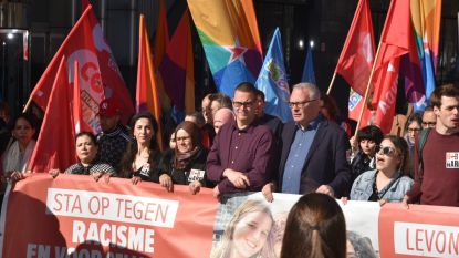 Betoging tegen racisme in Brussel brengt 3.850 mensen op de been